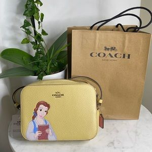 Disney X Coach Mini Camera Bag With Belle